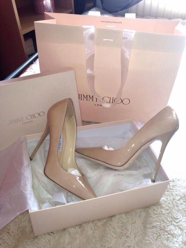 nude pumps jimmy choo