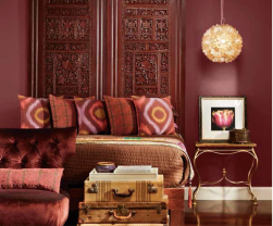Den in marsala color of the year