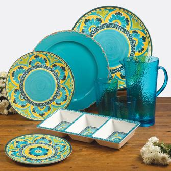 Mexican Tile Dinnerwear