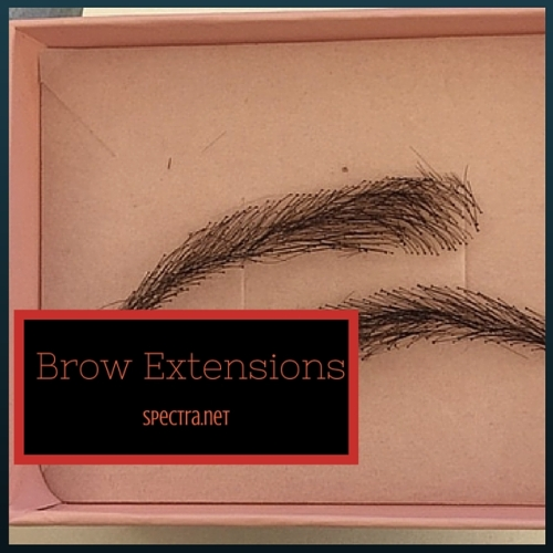 Beauty Trends Brow Extensions