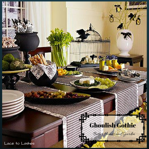 Halloween Party Decorating Tips Ghoulish Gothic