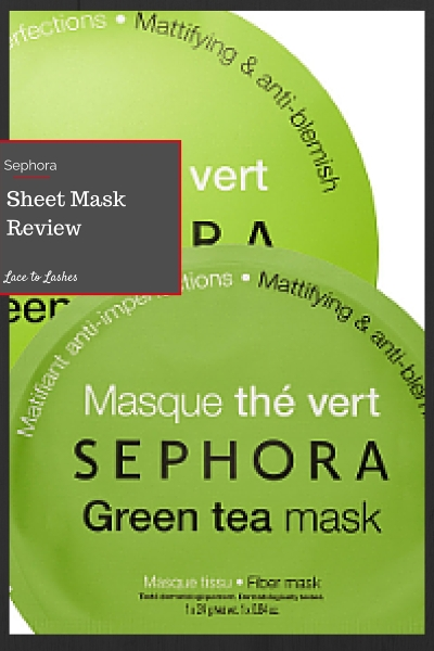 Sheet Mask Review Sephora