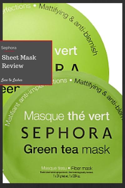 Sheet Mask Review Sephora