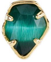 Emerald Cat's Eye Charm
