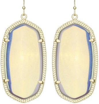 Iridescent Drop Earrings