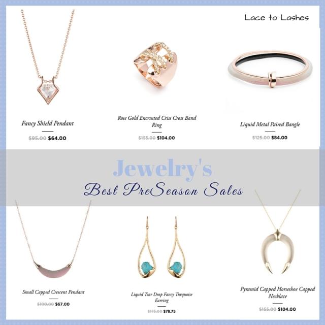 Jewelry Preseason Sale
