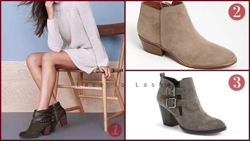 Thanksgiving Casual Outfit: Booties