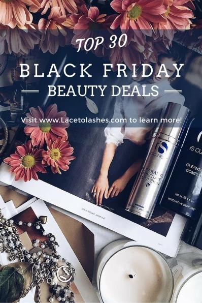 Top 30 Black Friday Beauty Deals