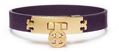Turn-lock Leather Bracelet